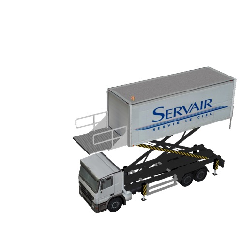 Screenshot of Catering Loader Truck Large, Servair, 4.0m