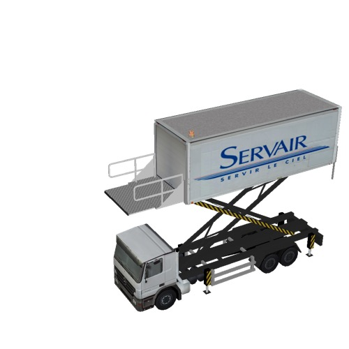 Screenshot of Catering Loader Truck Large, Servair, 4.5m