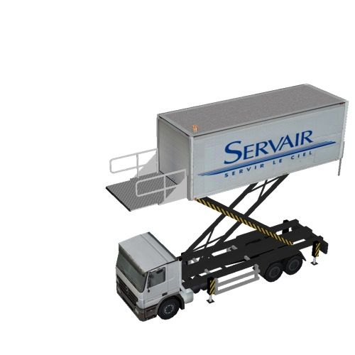 Screenshot of Catering Loader Truck Large, Servair, 5.0m