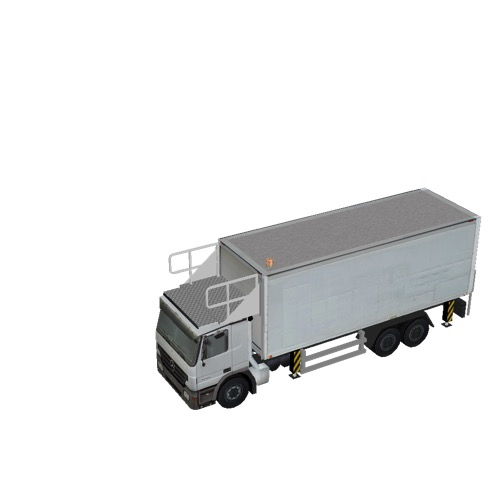 Screenshot of Catering Loader Truck Large, White, stowed