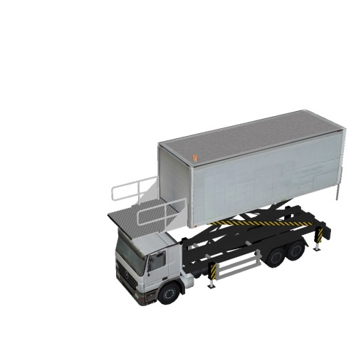 Screenshot of Catering Loader Truck Large, White, 3.2m