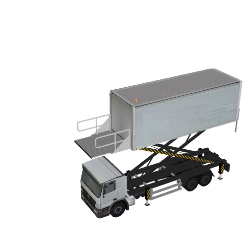 Screenshot of Catering Loader Truck Large, White, 4.0m