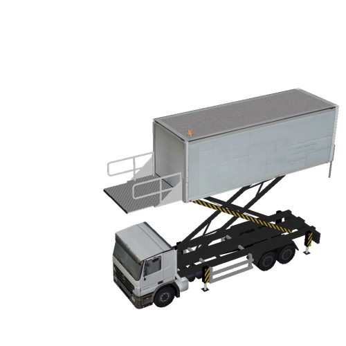 Screenshot of Catering Loader Truck Large, White, 4.5m