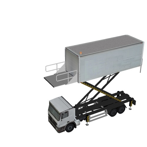 Screenshot of Catering Loader Truck Large, White, 5.0m