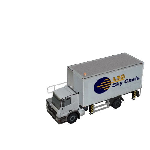 Screenshot of Catering Loader Truck LSG Sky Chefs, stowed