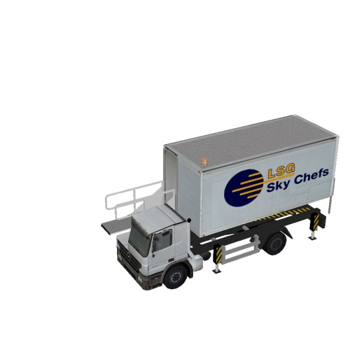 Screenshot of Catering Loader Truck LSG Sky Chefs, 1.9m