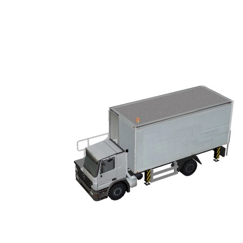 Screenshot of Catering Loader Truck White, stowed