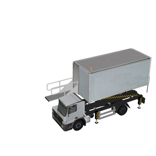 Screenshot of Catering Loader Truck White, 2.3m
