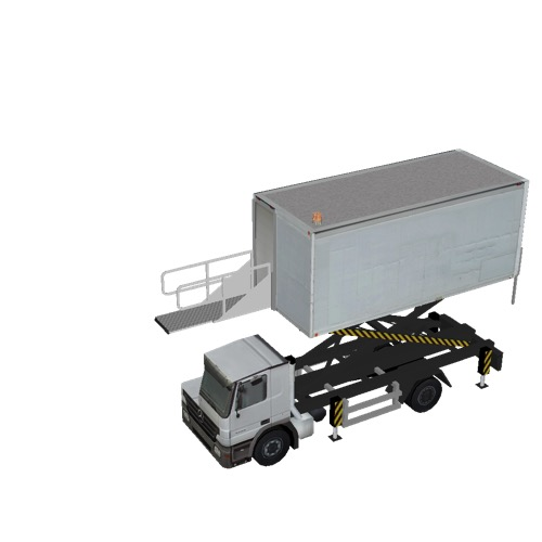 Screenshot of Catering Loader Truck White, 3.1m