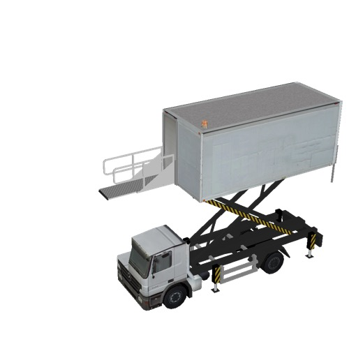 Screenshot of Catering Loader Truck White, 4.0m