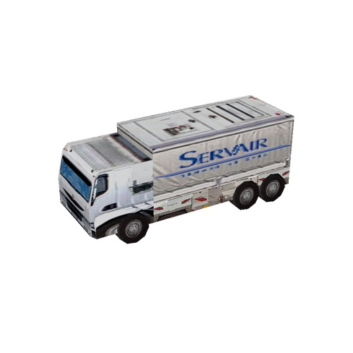 Screenshot of Truck, Medium sized, Servair
