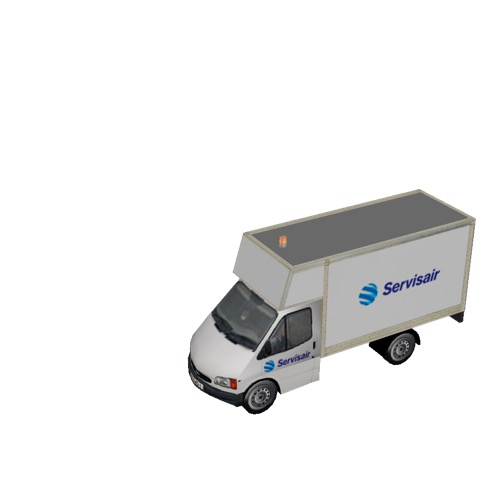 Screenshot of Ford Transit box truck, Servisair