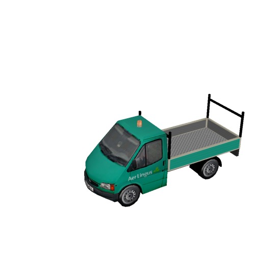 Screenshot of Ford Transit pickup, Aer Lingus