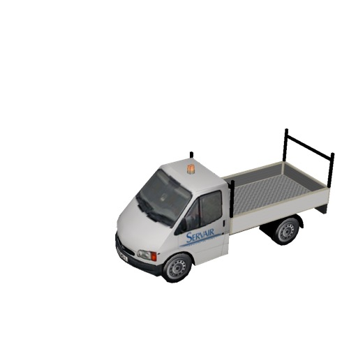 Screenshot of Ford Transit pickup, Servair