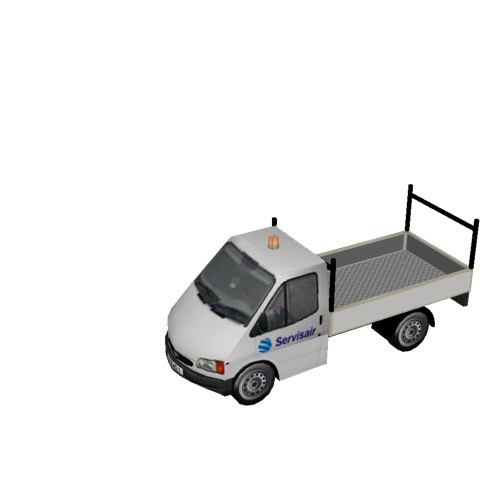 Screenshot of Ford Transit pickup, Servisair