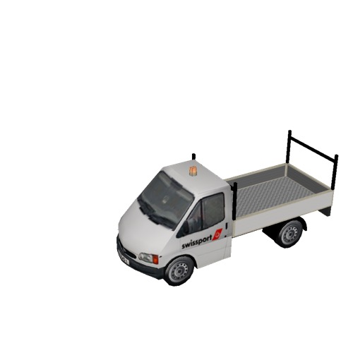 Screenshot of Ford Transit pickup, Swissport