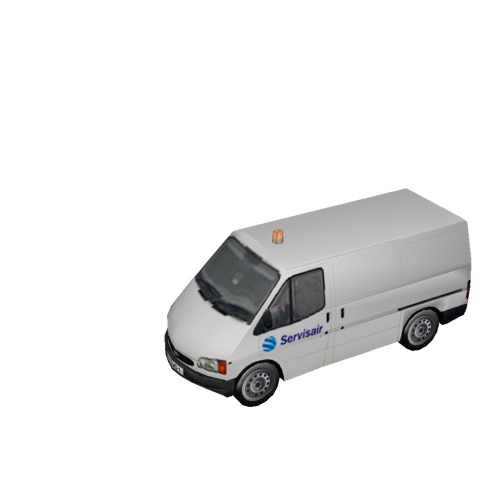 Screenshot of Ford Transit van, Servisair
