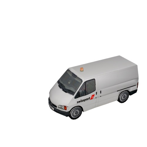 Screenshot of Ford Transit van, Swissport