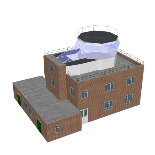 Screenshot of Tower, brick, 2 storey, octagonal control room, type 2