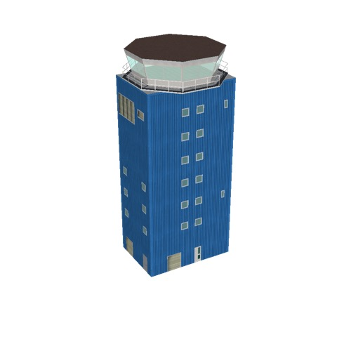 Screenshot of Tower, concrete, modern, 27.5m, blue