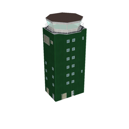 Screenshot of Tower, concrete, modern, 27.5m, green
