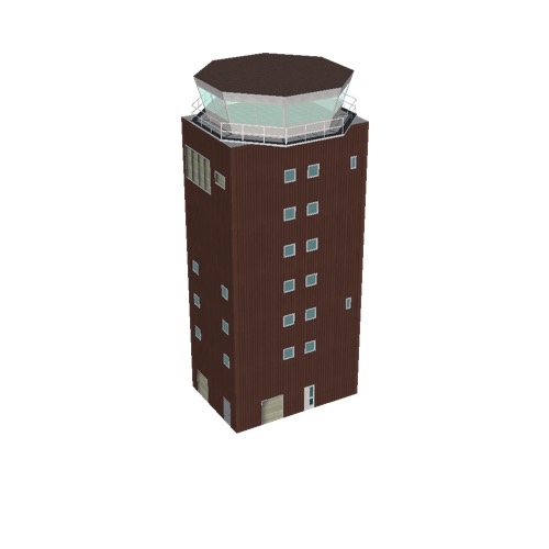 Screenshot of Tower, concrete, modern, 27.5m, brown