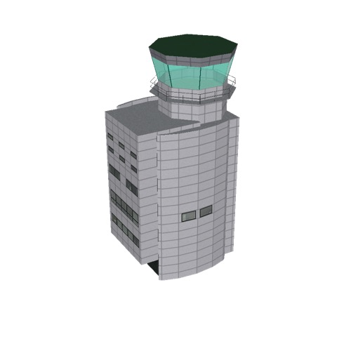 Screenshot of Tower, concrete, modern, 28m, grey