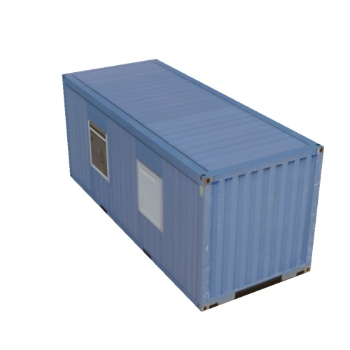 Screenshot of Office, shipping container