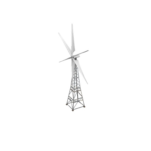 Screenshot of Wind turbine, 6-bladed, 30m