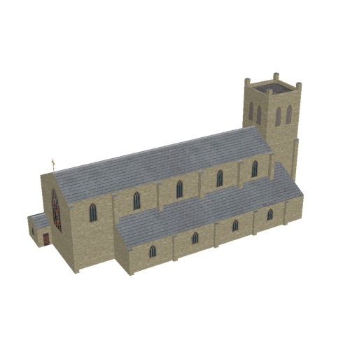 Screenshot of Church, stone, cotswold, tower, 40m