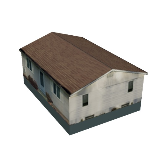 Screenshot of House, Wooden, Single Storey, Medium, White