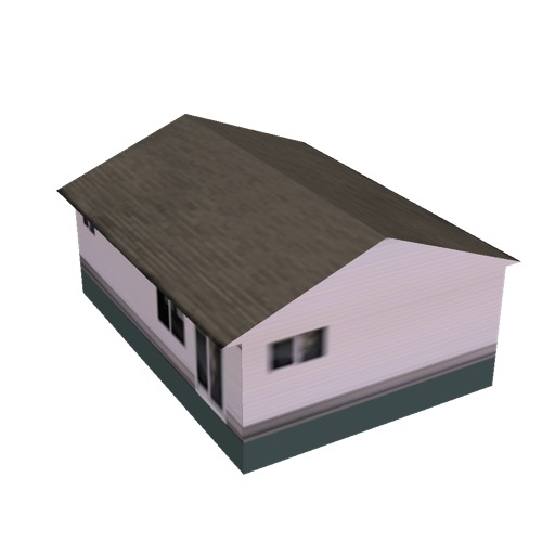 Screenshot of House, Wooden, Single Storey, Medium, Pink