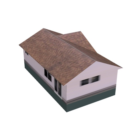 Screenshot of House, Wooden, Single Storey, Large, Pink