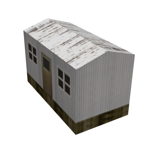 Screenshot of Hut, Wooden, Grey