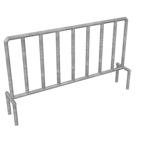 Screenshot of Barrier, metal, portable
