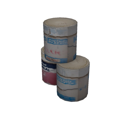 Screenshot of Paint tins