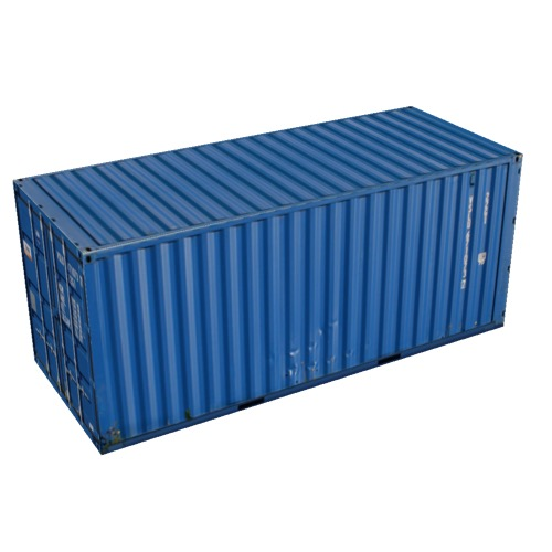 Screenshot of Shipping Container, 20'