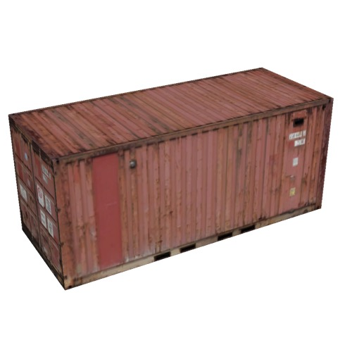 Screenshot of Shipping container, 6m, brown