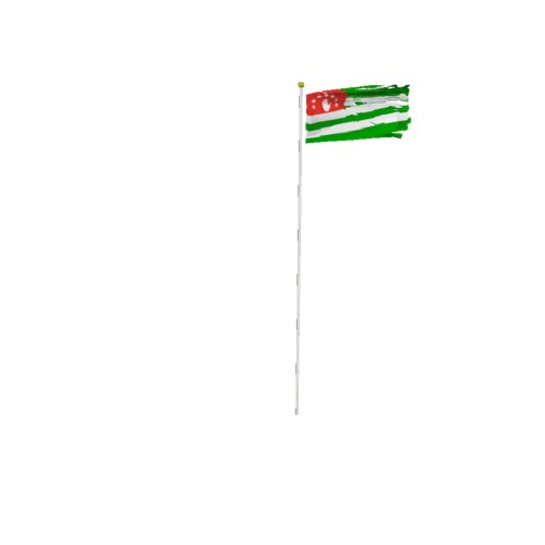 Screenshot of Flag, Abkhazia