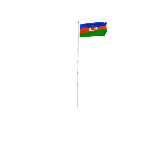 Screenshot of Flag, Azerbaijan