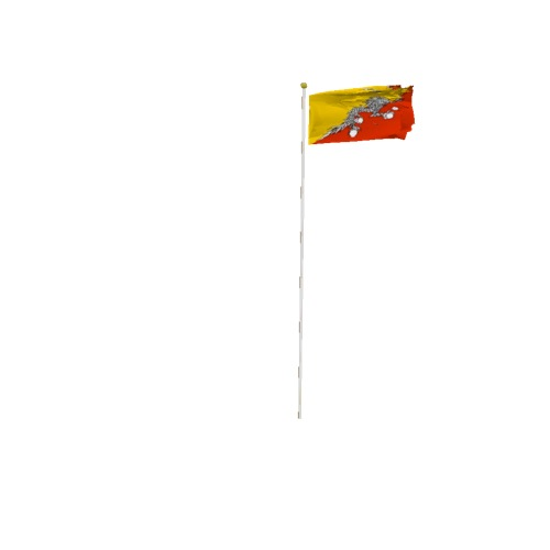 Screenshot of Flag, Bhutan