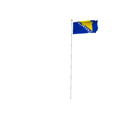 Screenshot of Flag, Bosnia and Herzegovina