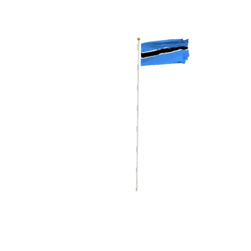 Screenshot of Flag, Botswana