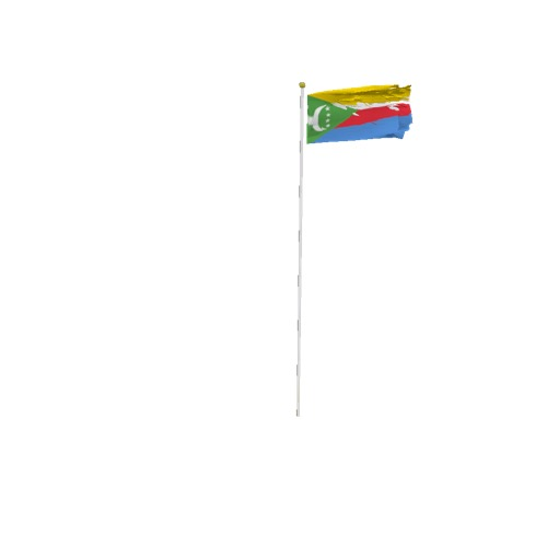 Screenshot of Flag, Comoros Islands