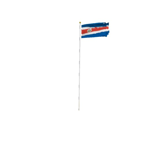 Screenshot of Flag, Costa Rica