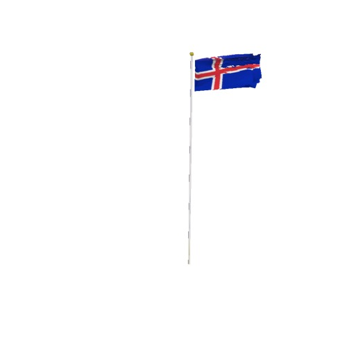 Screenshot of Flag, Iceland