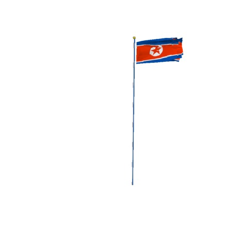 Screenshot of Flag, North Korea