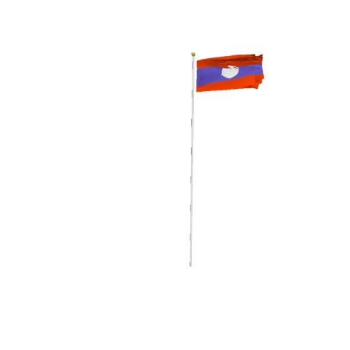 Screenshot of Flag, Laos