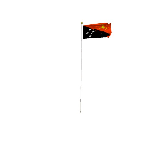 Screenshot of Flag, Papua New Guinea