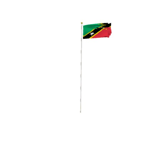 Screenshot of Flag, Saint Kitts and Nevis